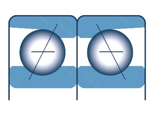 Подшипник шариковый радиально-упорный спаренный 7320CDB/GNP5
