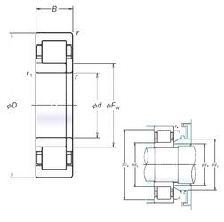 Подшипник роликовый радиальный NUP305EM
